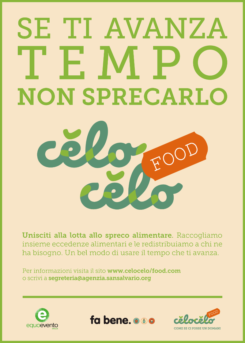 Appello Volontari Celocelo Food